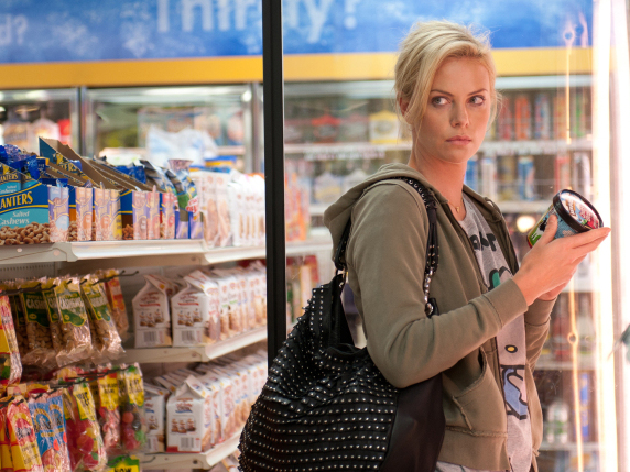 The angsty Mavis (Charlize Theron), a teen-fiction writer, plots to save her high-school beau from what she believes is a too-mundane married life in Young Adult.