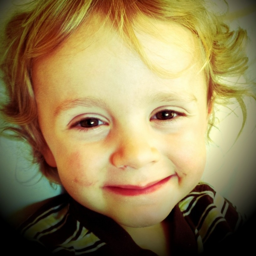 This is my little brother Tejas. He was almost 3 years old when I took this picture.