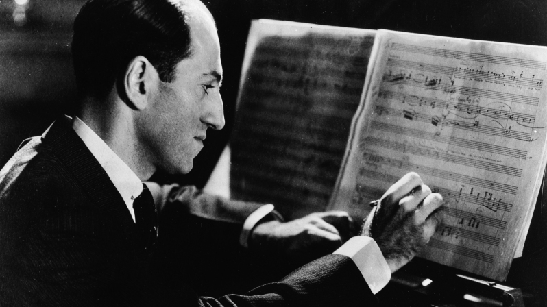 George Gershwin's most famous works include Rhapsody in Blue, An American in Paris and the opera Porgy and Bess.