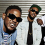 Black Hippy are (from left) Kendrick Lamar, Schoolboy Q, Jay Rock and Ab-Soul.