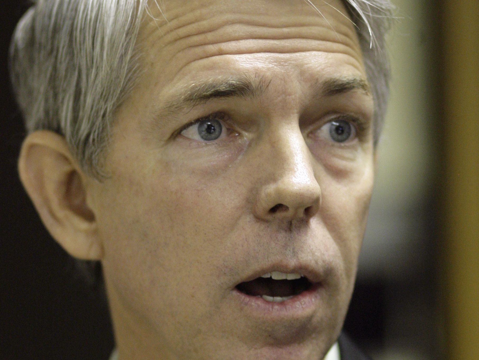 Republican activist David Barton speaks before testifying before the Texas State Board of Education in 2009.