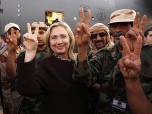 As Hillary Clinton Testifies, How Will Libya Shape Her Legacy ...
