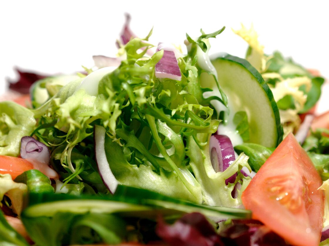 You call it salad. The bacteria call it home.