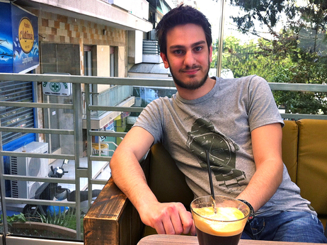 """In Europe, we're trying to save banks by sacrificing an entire generation — my generation,"" says Marios Kyriakos, 24."
