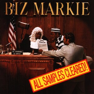 The cover of Biz Markie's All Samples Cleared.