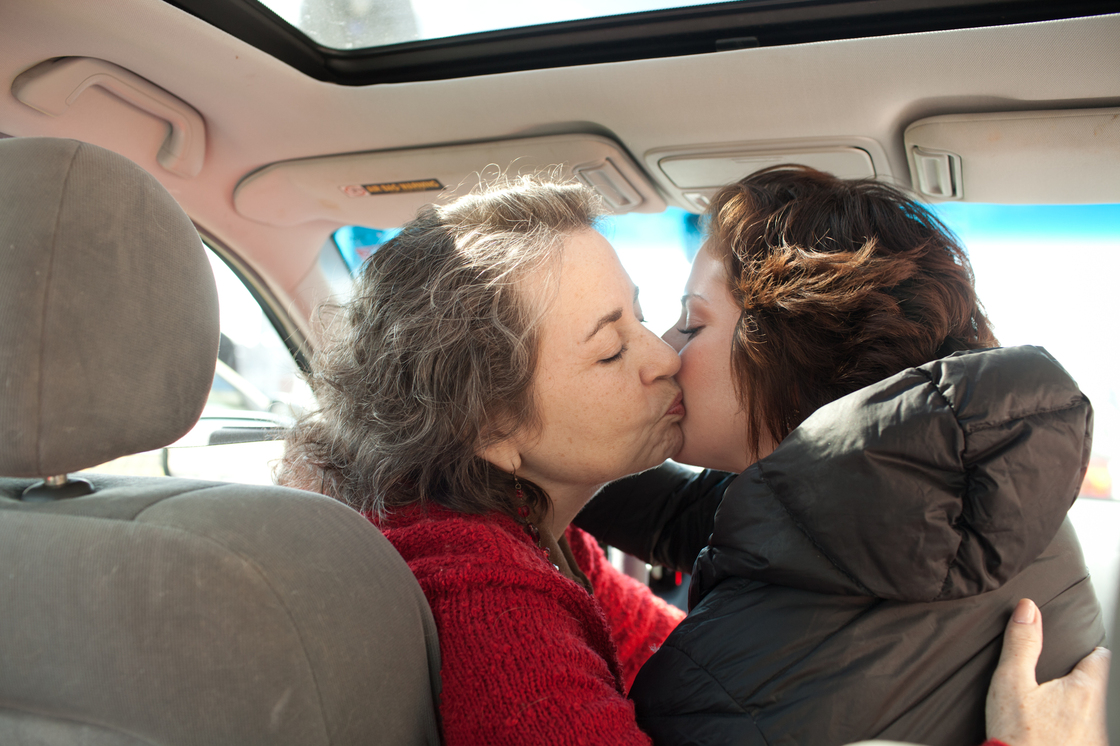 After court, her mother drives Eden to the Baltimore train station where she travels to Philadelphia and finally takes a taxi to the small town that she frequently works out of. Sad that they couldn't spend more time together, her mother kisses her daughter goodbye and wishes her the best.
