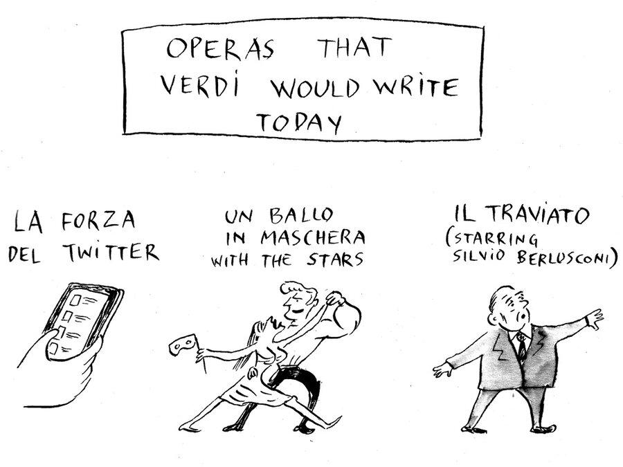 Image result for verdi cartoon