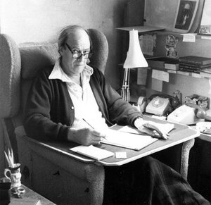 """Lucy Dahl remembers that her father's writing hut was """"a sacred place."""" Even on the days he wasn't feeling inspired to write, he'd go out there for hours at a time and """"put his bottom on the chair."""" Click Here To Learn More About """"The Story Behind The Storyteller."""""""