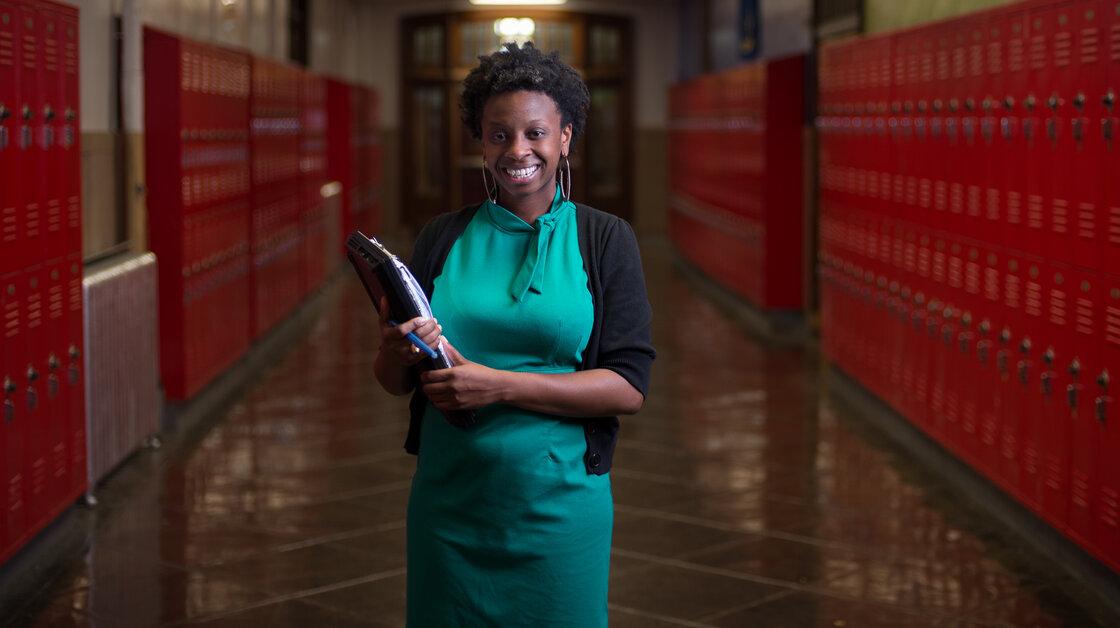 Shayna Terrell is the outreach coordinator at Simon Gratz Mastery Charter School in Philadelphia.