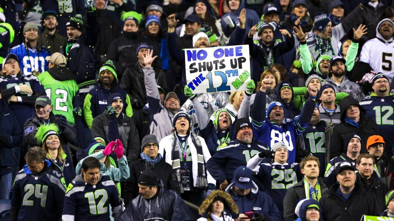 Image result for seahawk fans