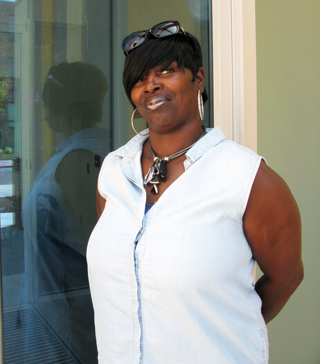 Since being released after serving time in prison for a felony assault, Chearie Phelps-El of Washington, D.C., has been determined to get her life in order. She's had trouble getting a job.