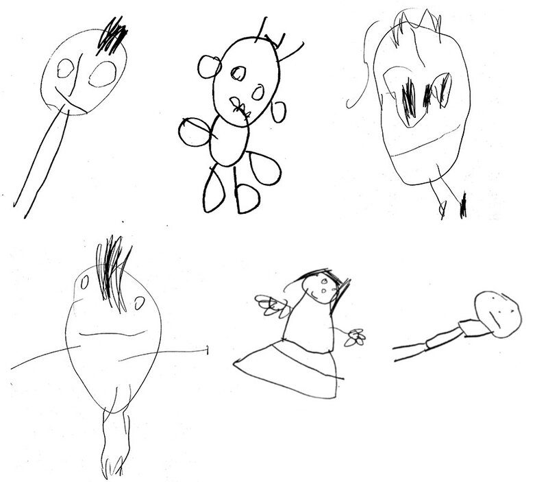 What Kids Drawings Say About Their Future Thinking Skills Shots Health News Npr