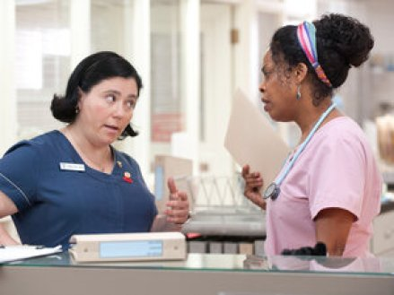 Dawn (Alex Borstein) and DiDi (Nash) are nurses dealing with ailing patients, impatient doctors, upset families and all the other complexities of end-of-life care.