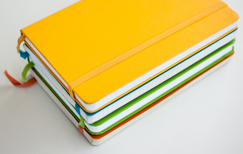 Moleskine notebooks have grown in popularity.