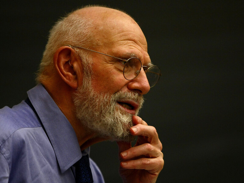 Neurologist Dr. Oliver Sacks speaks at Columbia University in June 2009 in New York City. Sacks, a prolific author and commentator, has died at age 82.