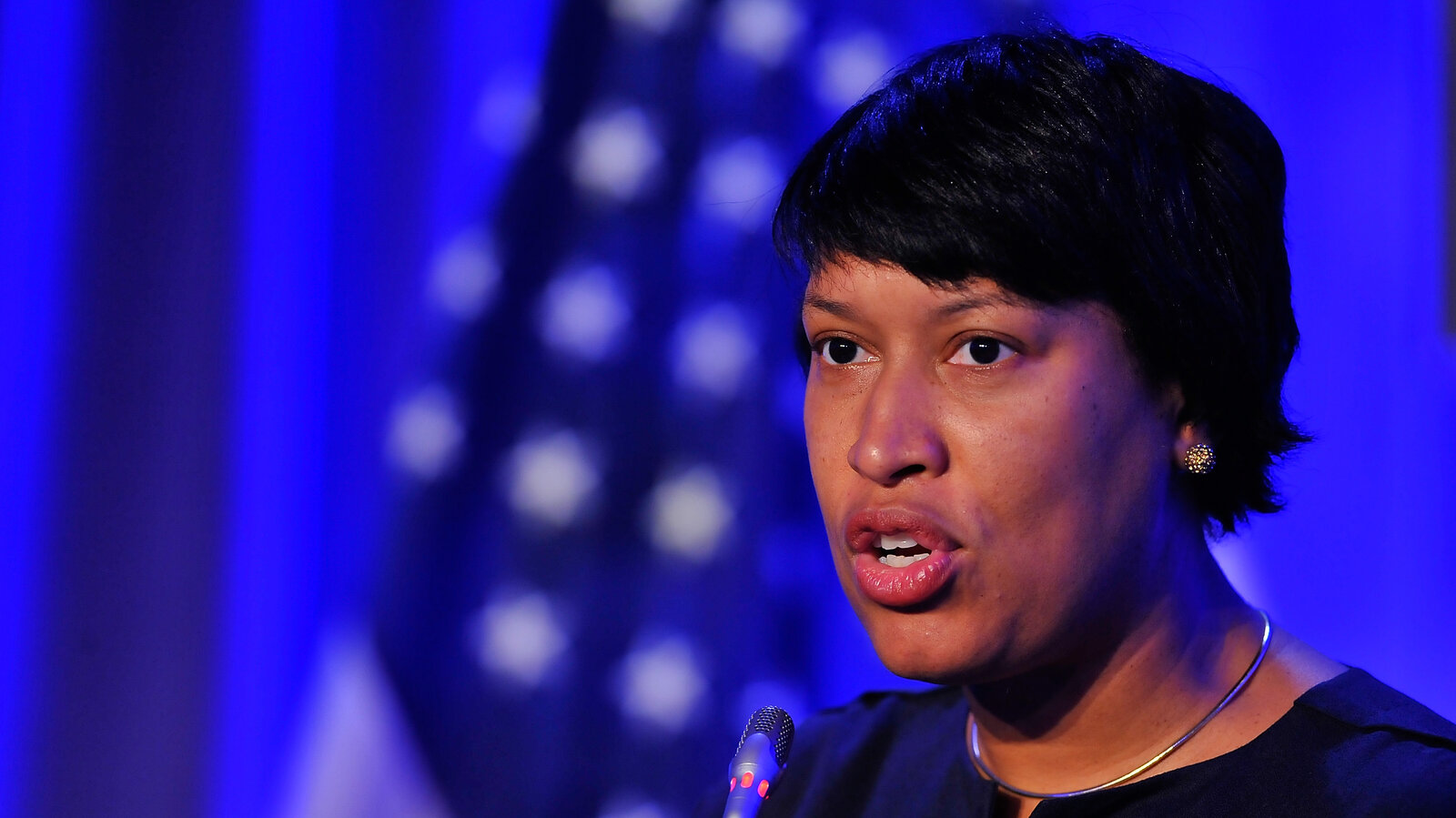 Washington, D.C. mayor Muriel Bowser last month.