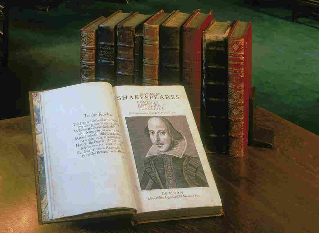 400 Years After His Shakespeare S First Folio Goes