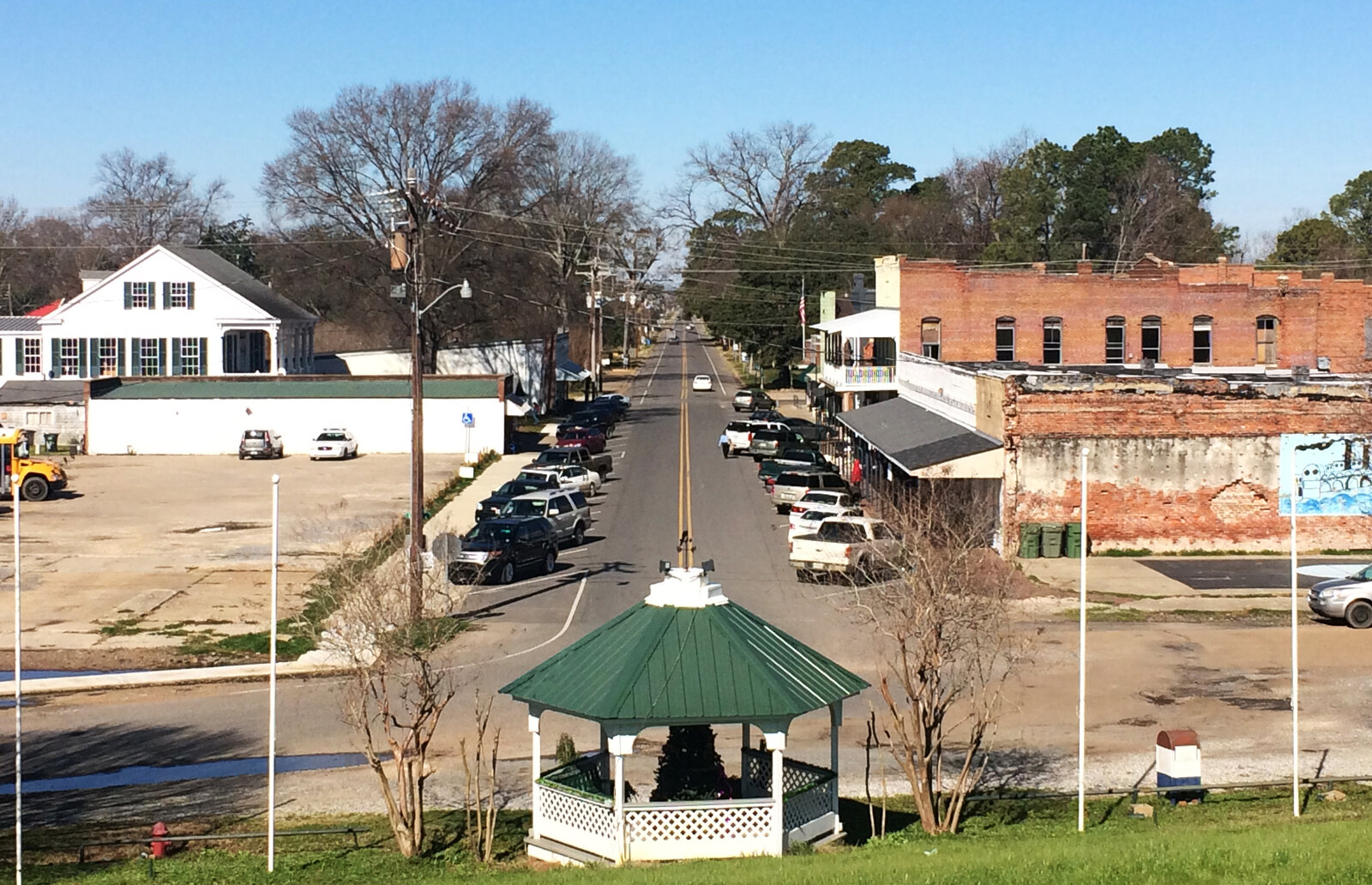 St. Joseph, La., seen from a height.