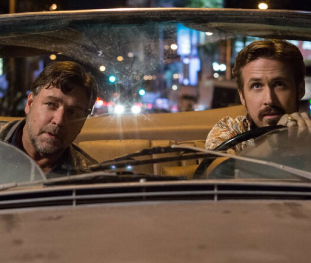 Crowe And Gosling Bumble Appealingly Through The Nice Guys