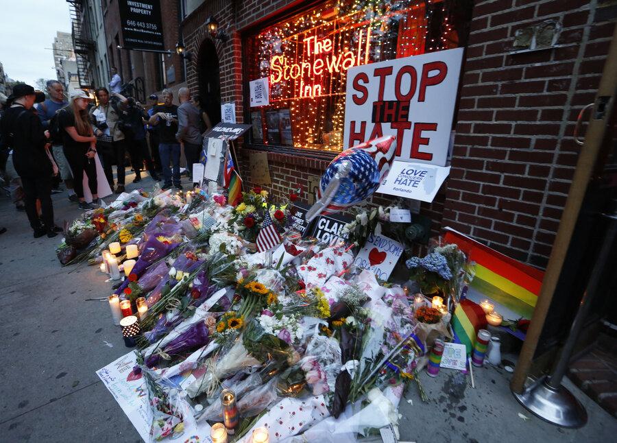 Image result for obama, stonewall inn memorial