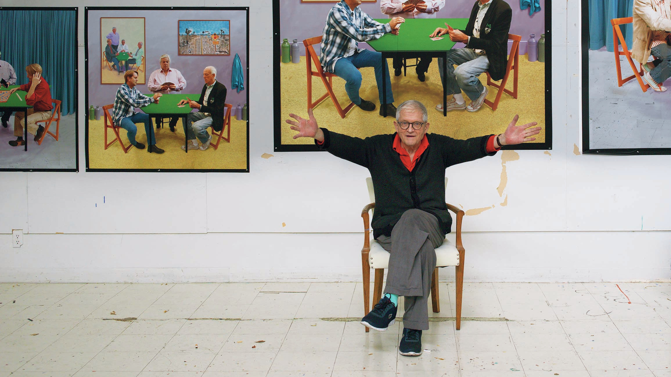 Artist David Hockney Says The Drive To Create Pictures Is