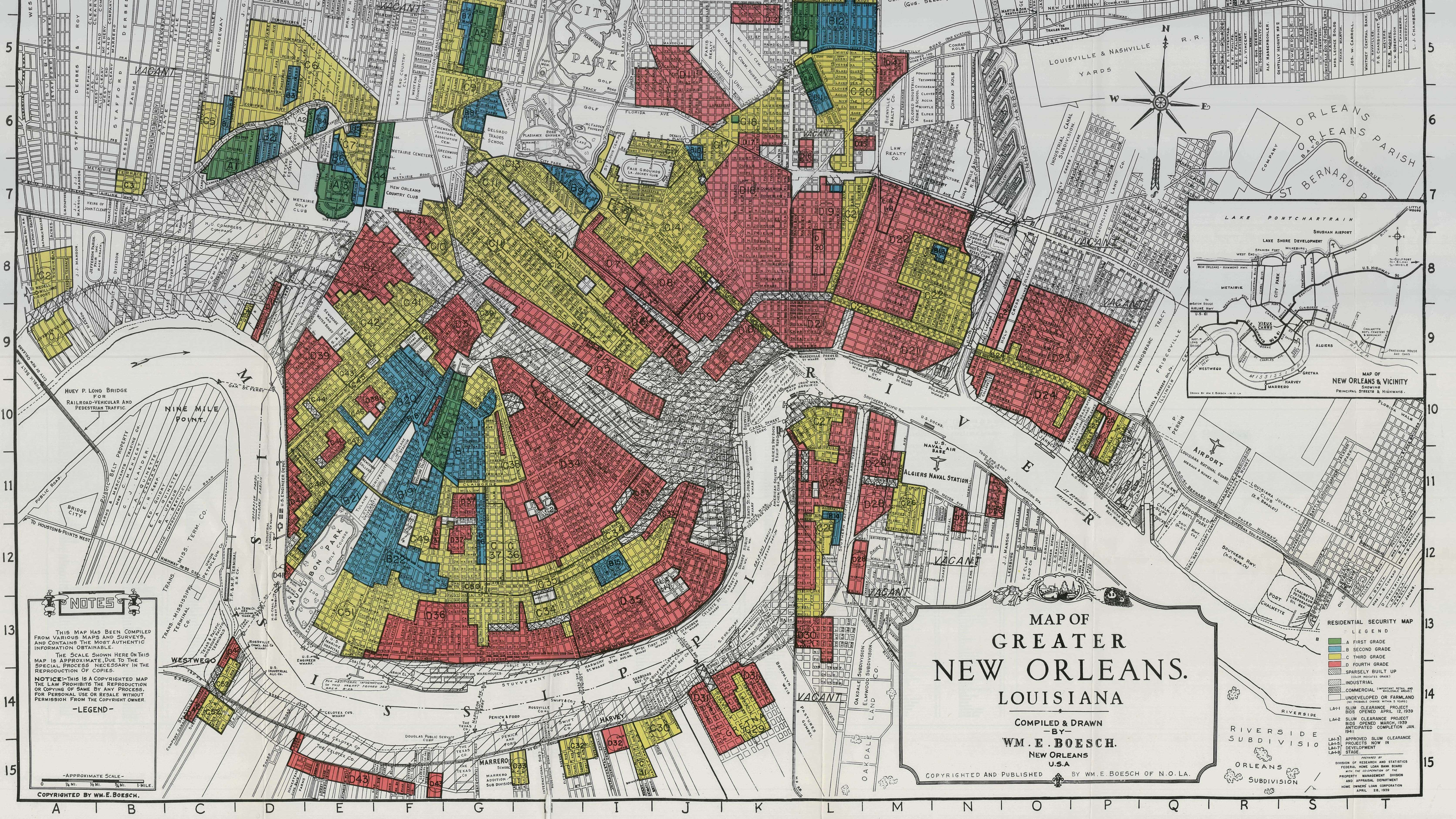 Interactive Redlining Map Zooms In On America s History Of     Interactive Redlining Map Zooms In On America s History Of Discrimination    The Two Way   NPR