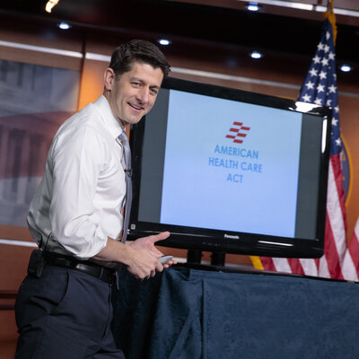 Paul Ryan Sells Health Care Bill As A 'Once-In-A-Lifetime Opportunity'