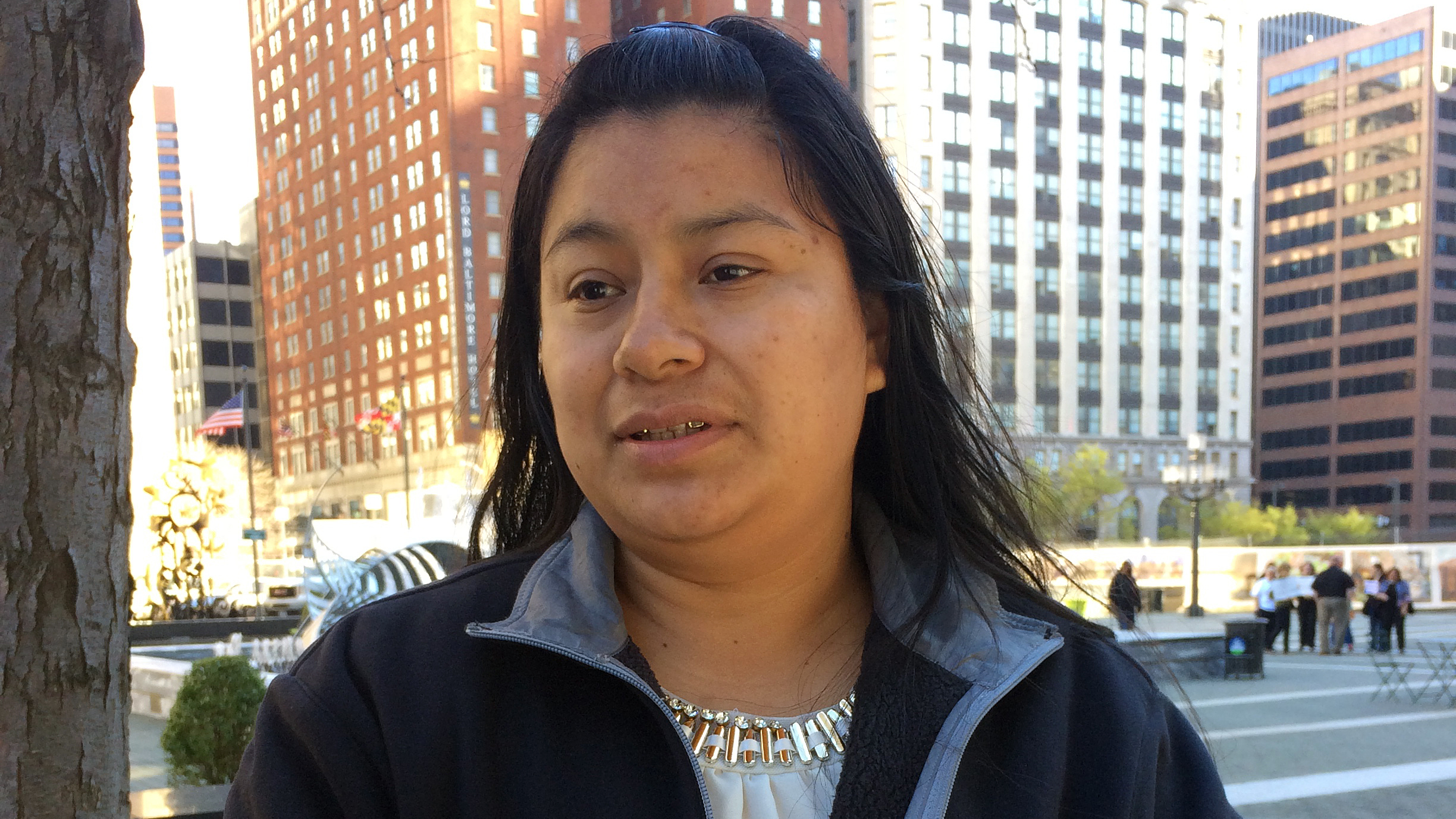 "Florinda Lorenzo came to the U.S. from Guatemala 14 years ago. She checks in ICE regularly — a requirement stemming from a 2010 arrest, though the charges were later dropped. She says the check-ins have become ""painful and stressful"" because she"