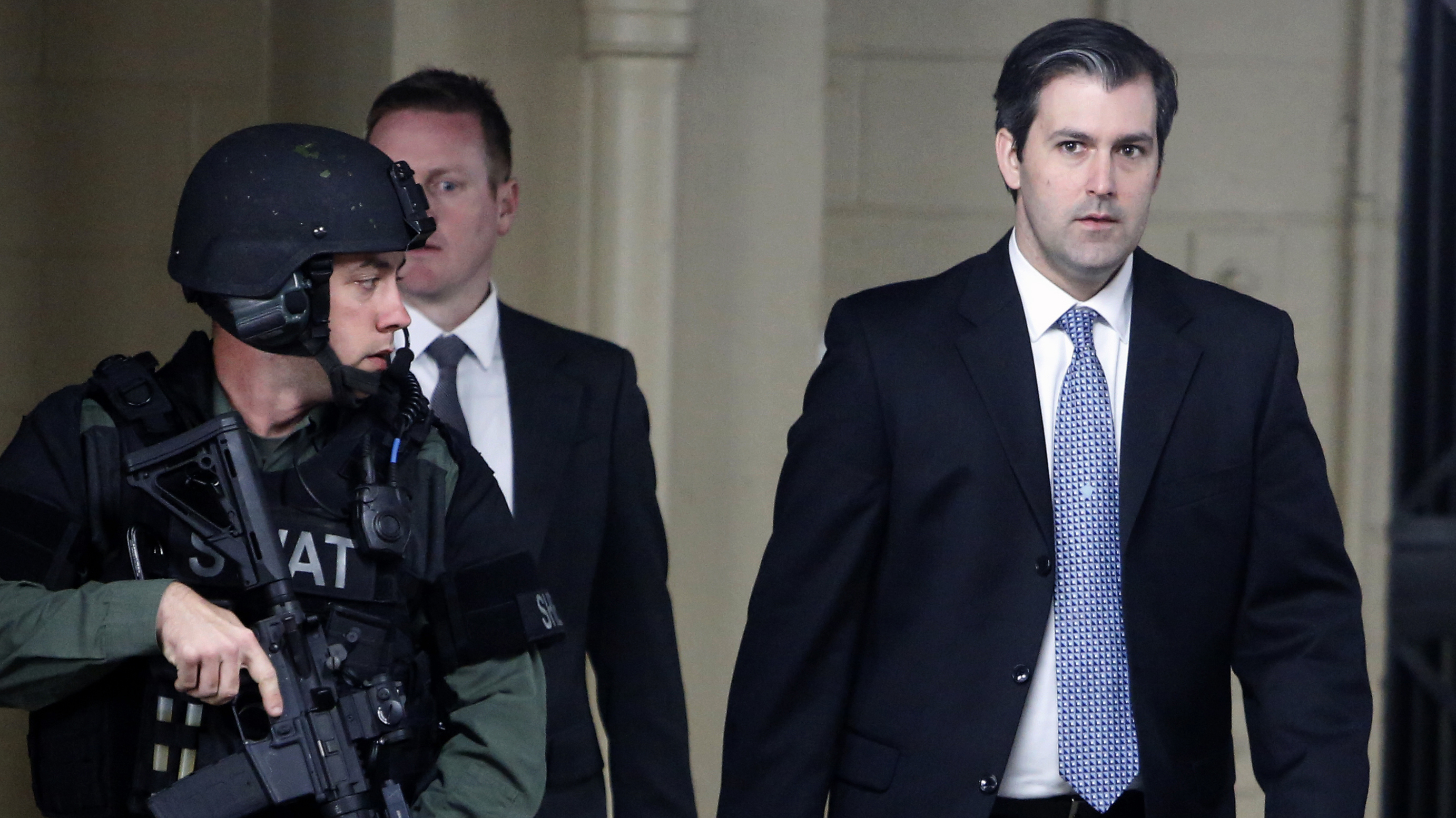 Former North Charleston, S.C., police officer Michael Slager is expected to plead guilty on Tuesday afternoon to one charge of violating Walter Scott