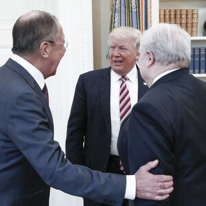 Reports: Trump Gave Classified Info To Russians During White House Visit