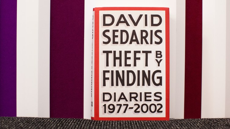 Theft by Finding: Diaries (1977-2002), by David Sedaris.