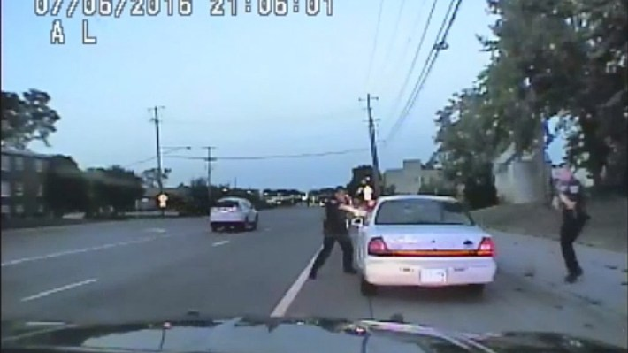 Investigators released the dashcam video from a July 2016 traffic stop. It shows St. Anthony Police officer Jeronimo Yanez aiming into the vehicle driven by Philando Castile in Falcon Heights, Minn.