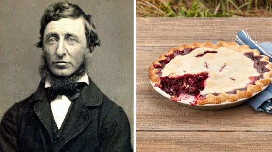 Did Thoreau steal pies off neighbors