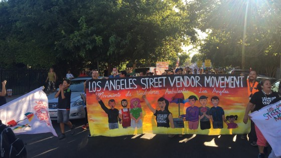 A recent scuffle between an elotero and a pedestrian in Hollywood re-energized discussion about legalizing street vending in California.