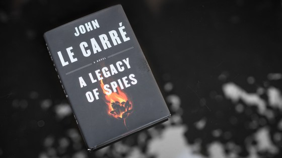Cover image of A Legacy of Spies by John le Carré.