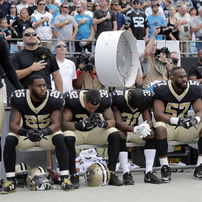 NFL Responds To Trump As President Renews Debate Over National Anthem