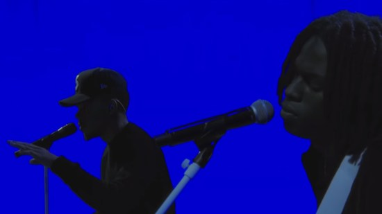 Chance The Rapper performs on The Late Show With Stephen Colbert.