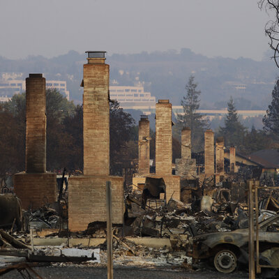 Wildfires Exacerbate Chronic Homelessness In Northern California