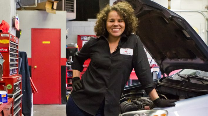 Image result for girls auto clinic she-canics