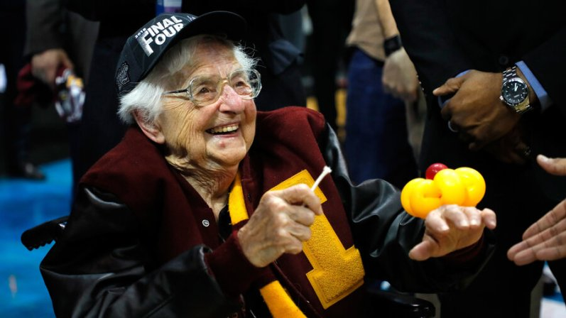 Image result for sister jean final four
