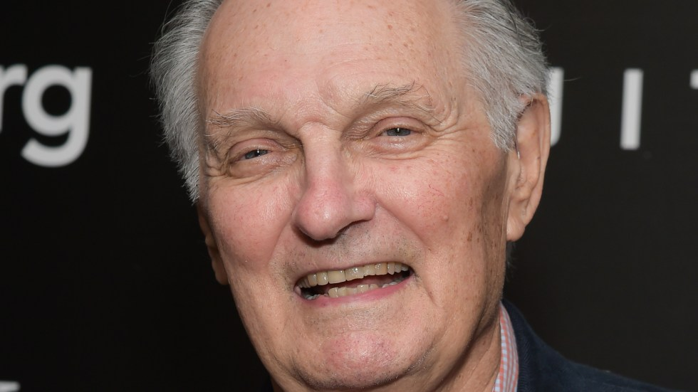 Actor Alan Alda, shown here in 2016, says he has been diagnosed with Parkinson