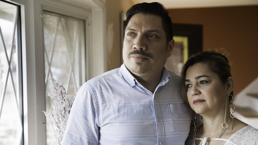 Marlon Munoz still becomes emotional when he remembers having to tell his wife Aibi Perez that she had breast cancer because no other interpreter was available to share the news.