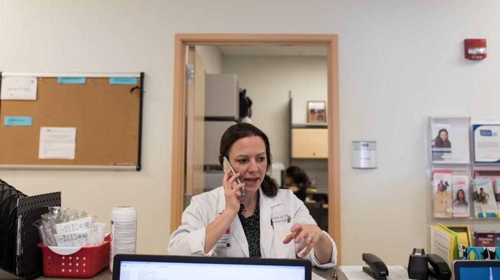 Dr. Lisa Hofler runs a University of New Mexico clinic that stocks mifepristone but doesn