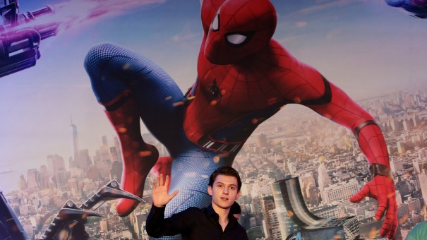 Actor Tom Holland attends the Spider-Man: Homecoming press conference at Conrad Seoul Hotel on July 3, 2017, in Seoul, South Korea.