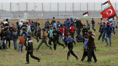 4 Palestinians Killed Along Gaza Border In 'Great March of Return' Protest