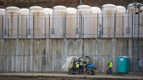 As Nuclear Waste Piles Up, Private Companies Pitch New Ways To Store It