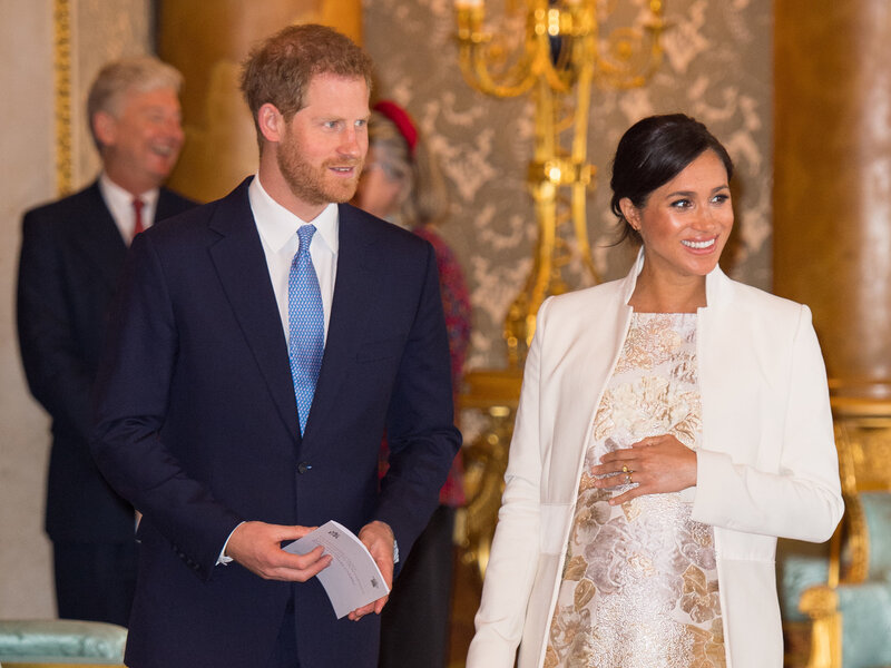 Meghan Markle And Prince Harry Welcome A Baby Boy To The Royal Family Npr