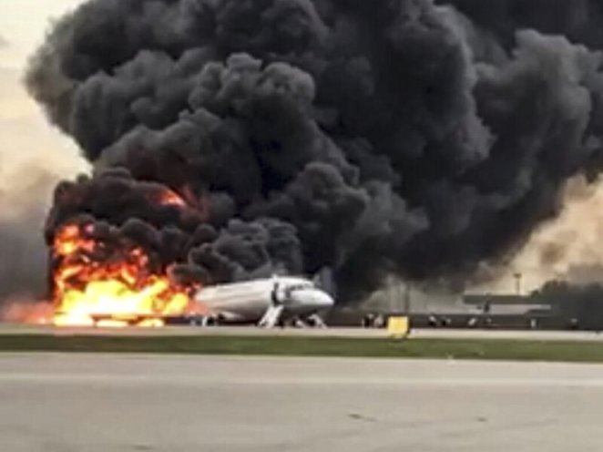 Image result for Plane Crashes Near Airport, Leaves 4 Dead