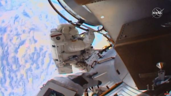 WATCH: 2 U.S. Astronauts Venture Out For First All-Woman Spacewalk