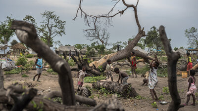 Mozambique Is Racing To Adapt To Climate Change. The Weather Is Winning